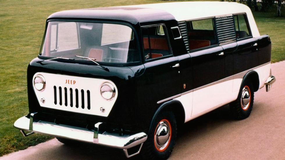 Jeep Forward Control delantera