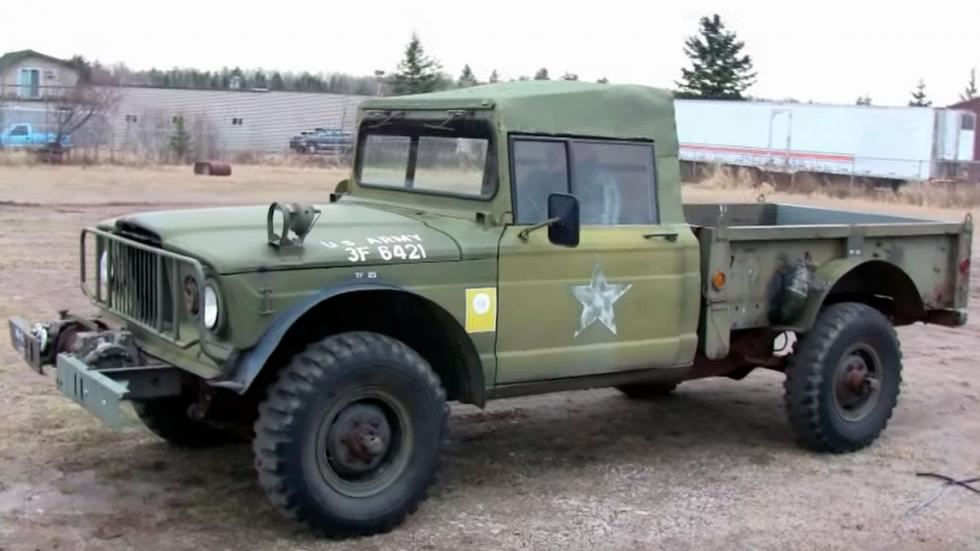 Jeep Kaiser M715 delantera
