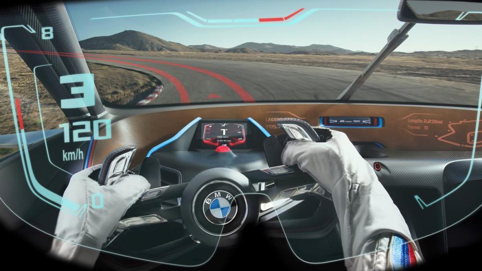 BMW 3.0 CSL Hommage R casco head up