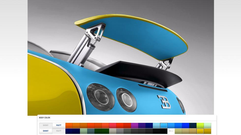 Configurador bugatti
