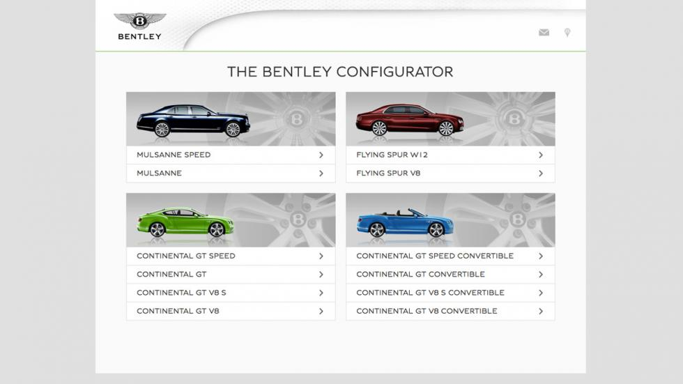 Configurador bentley