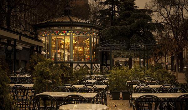 Terraza de Madrid