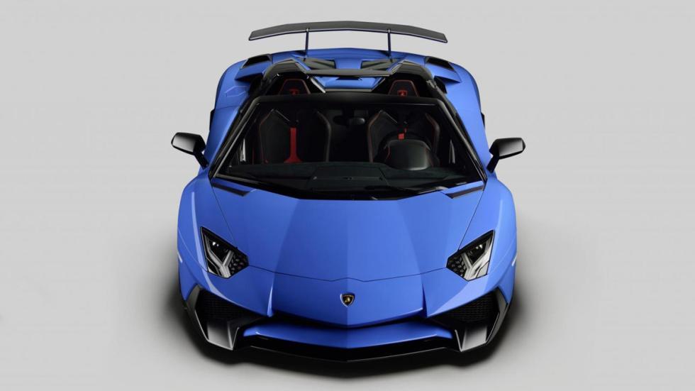 Lamborghini Aventador SV Roadster frontal