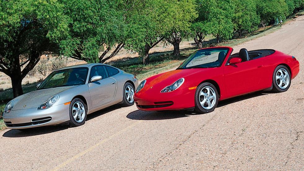 Porsche 911 (996) delantera