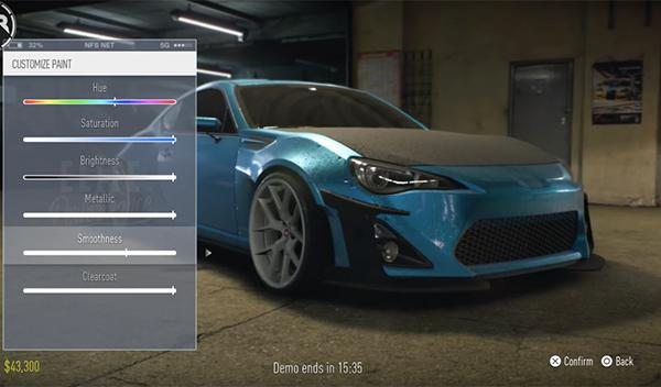 Gameplay Need for Speed 2015 2