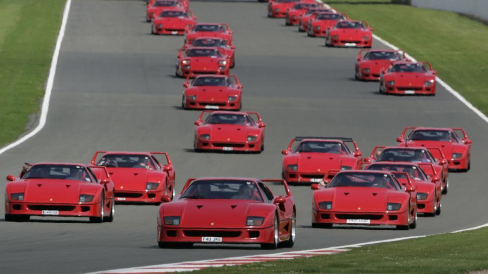 coches-alegran-día-Ferrari-clásico-f40