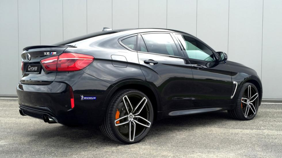 BMW X6 M G-power lateral