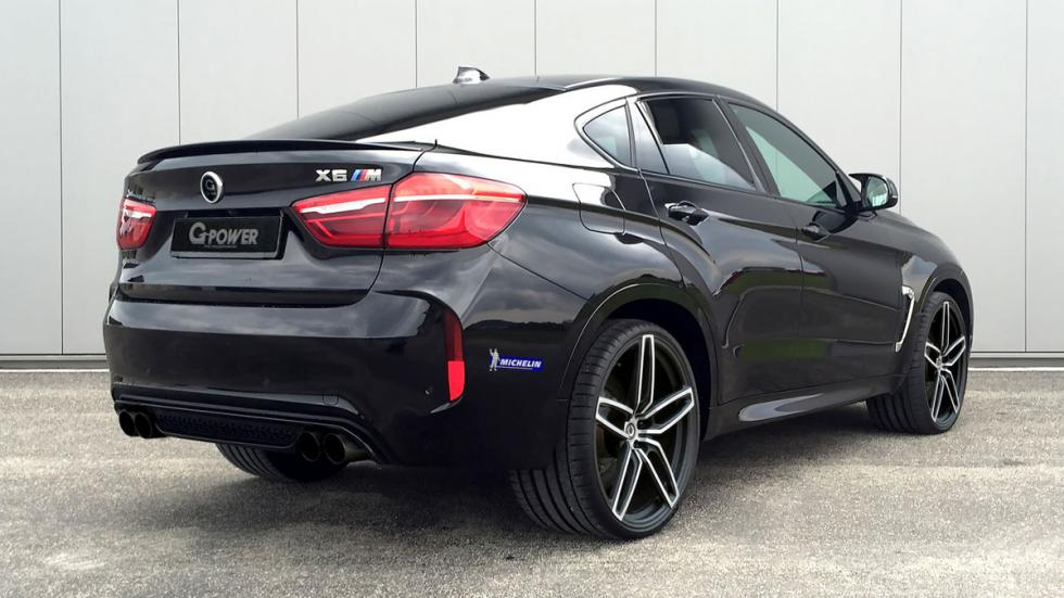 BMW X6 M G-power trasera