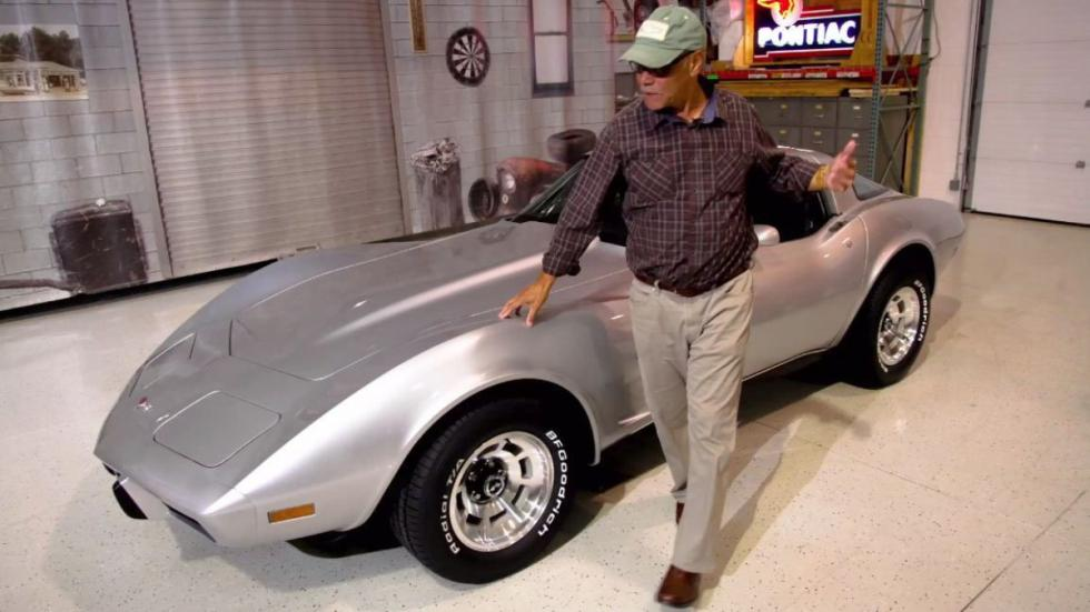Recupera Corvette C3 robado