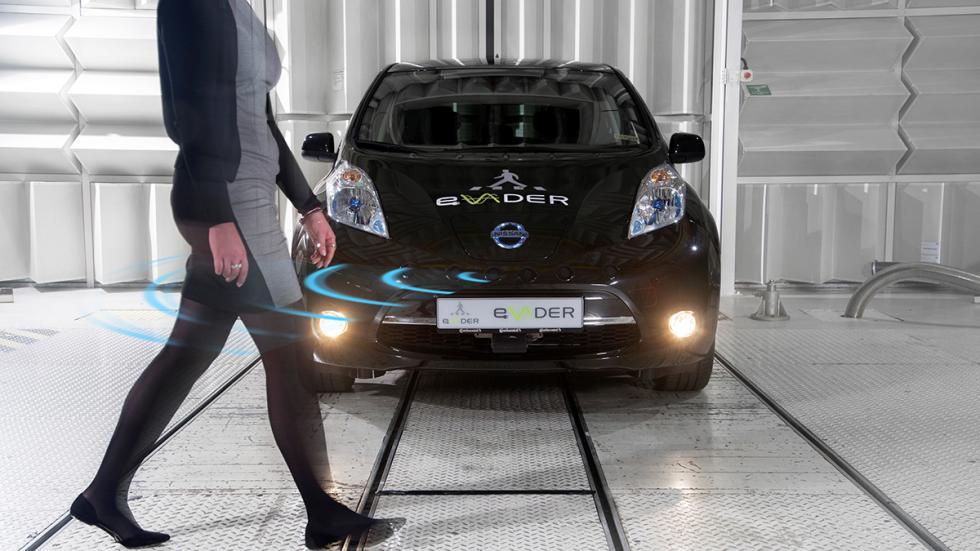 Sistema de alerta para peatones de Nissan