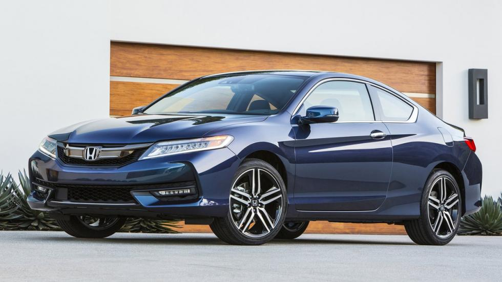 Honda Accord Coupe 2016 delatera