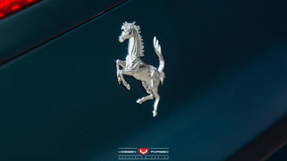 Ferrari 458 Italia PlasticDip Vossen detalle
