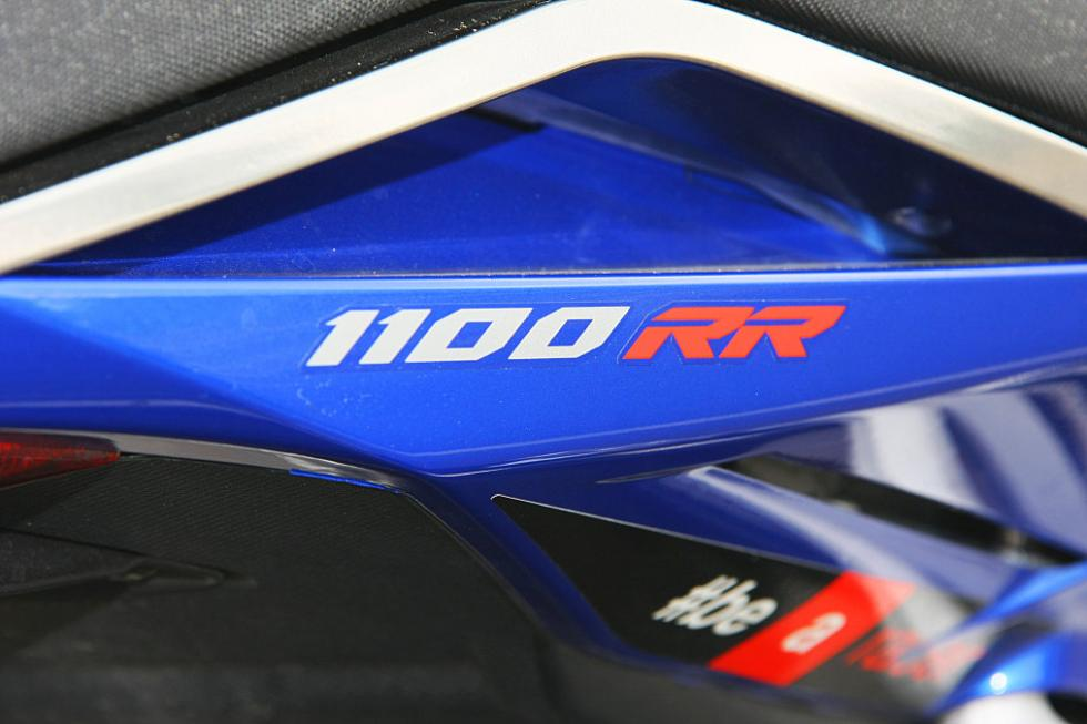 Aprilia Tuono 1100 RR. Nombre del modelo.