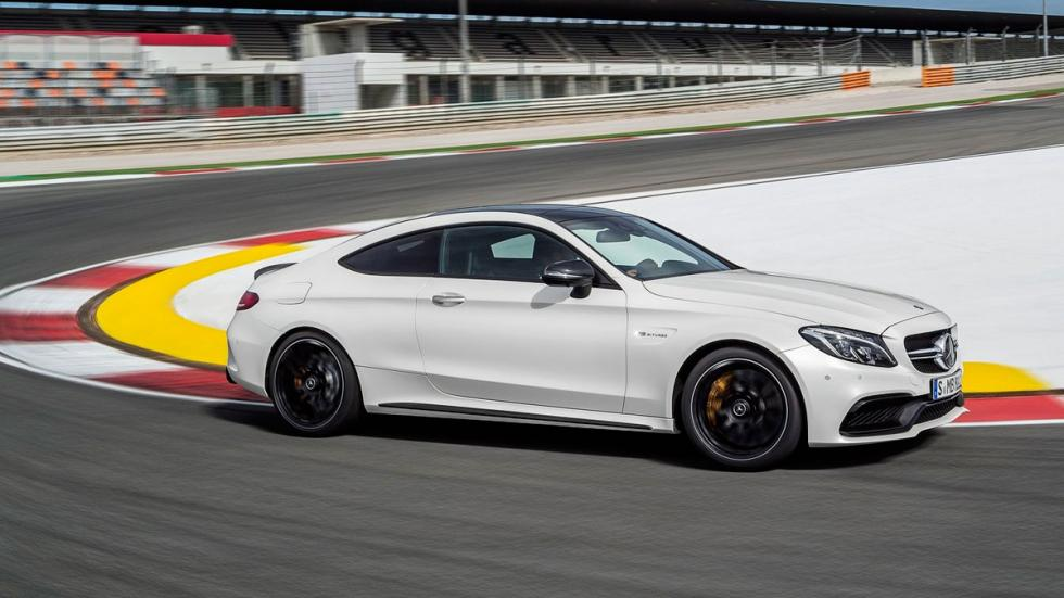 Mercedes C 63 AMG Coupé 2016 lateral