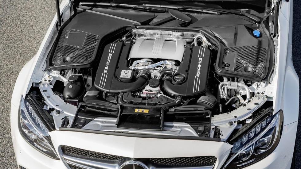 Mercedes C 63 AMG Coupé 2016 motor