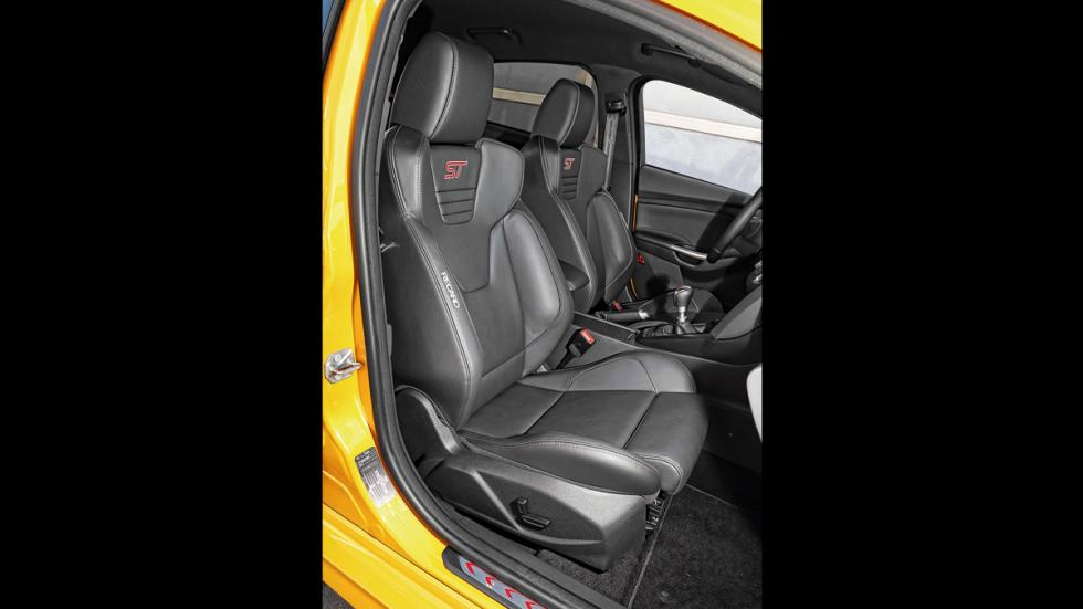 Ford Focus ST 2014 asientos