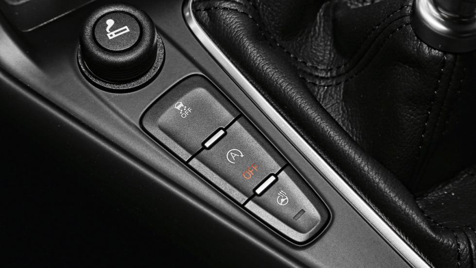 Ford Focus ST 2014 botones