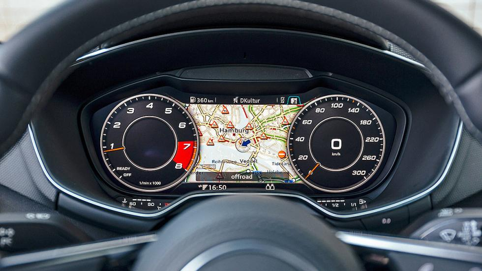 Audi TTS relojes