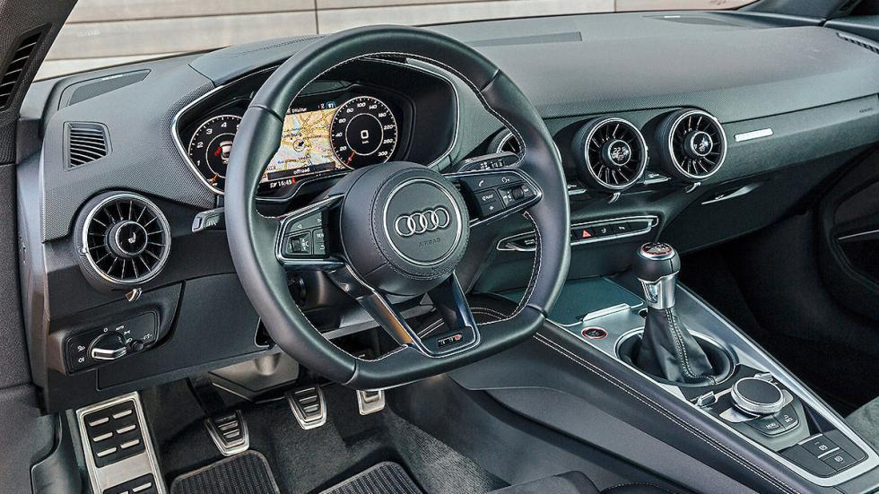 Audi TTS relojes volante