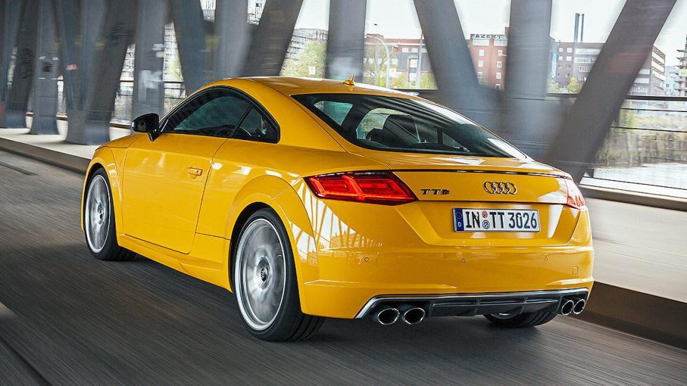 Audi TTS relojes zaga