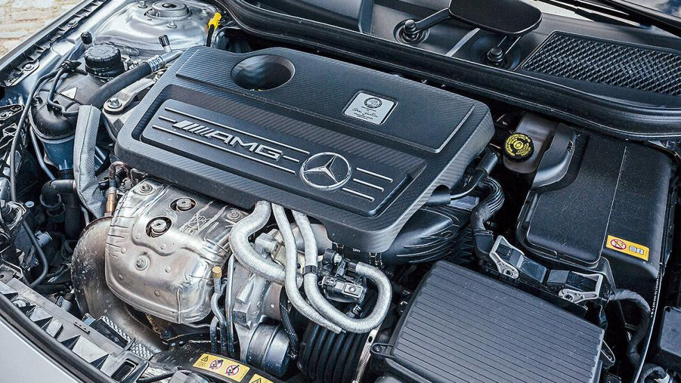 Mercedes  CLA Shooting Brake motor