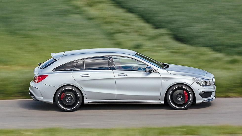 Mercedes  CLA Shooting Brake barrido
