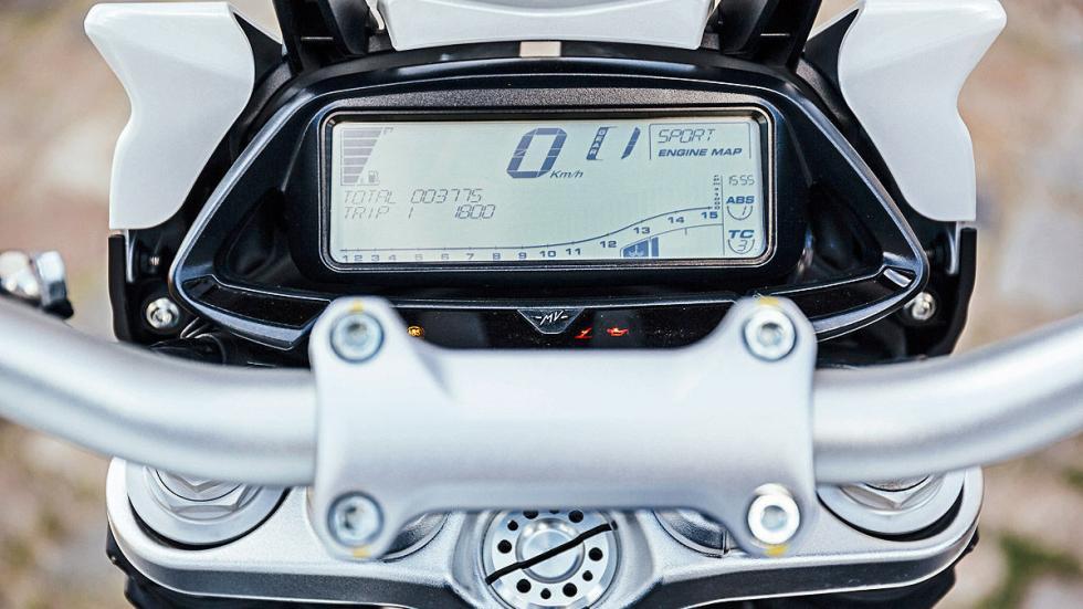 MV Agusta Stradale  indicador digital