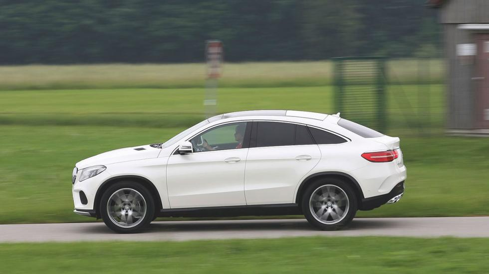Mercedes GLE lateral