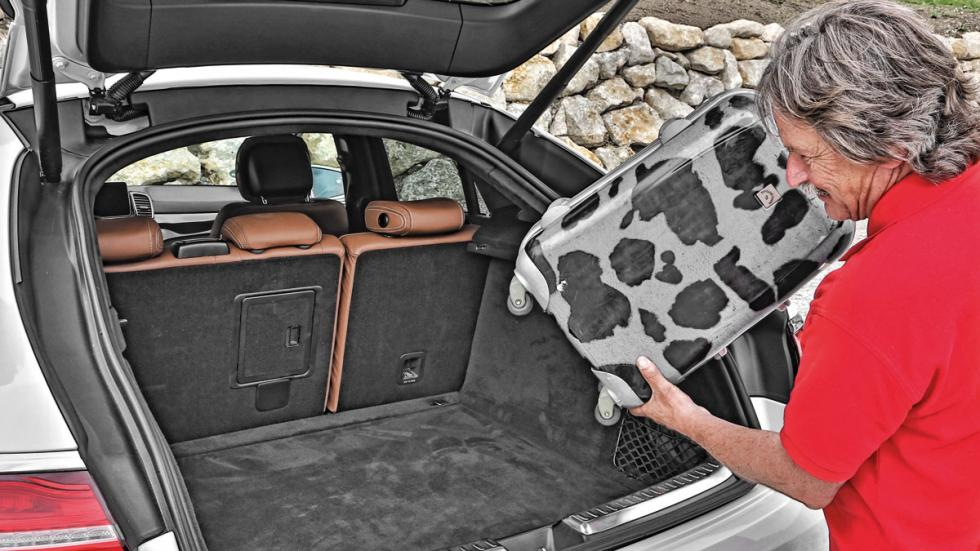 Mercedes GLE maletero