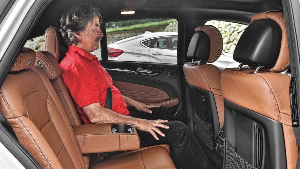 Mercedes GLE asientos