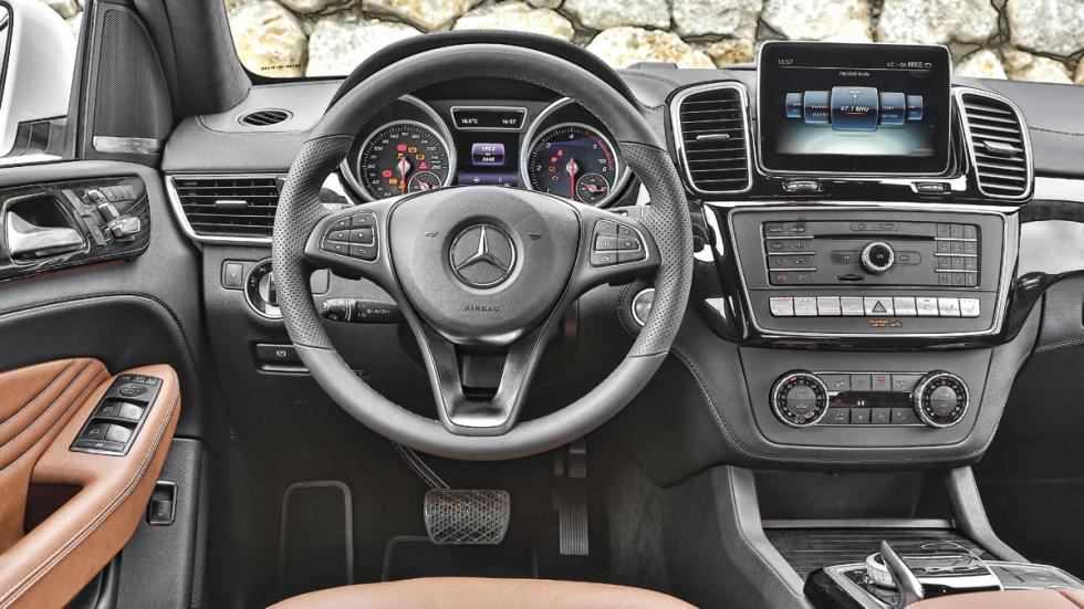 Mercedes GLE interior