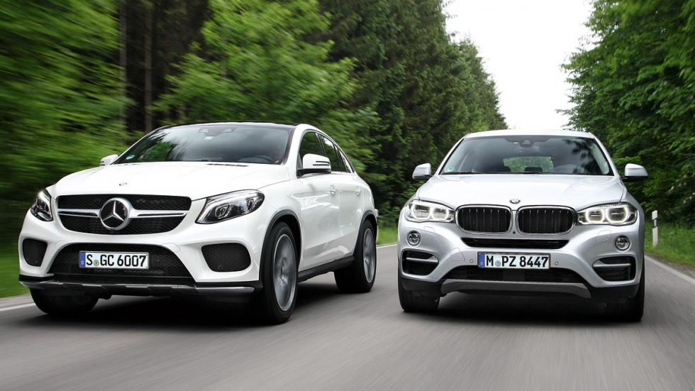 Mercedes GLE/BMW X6