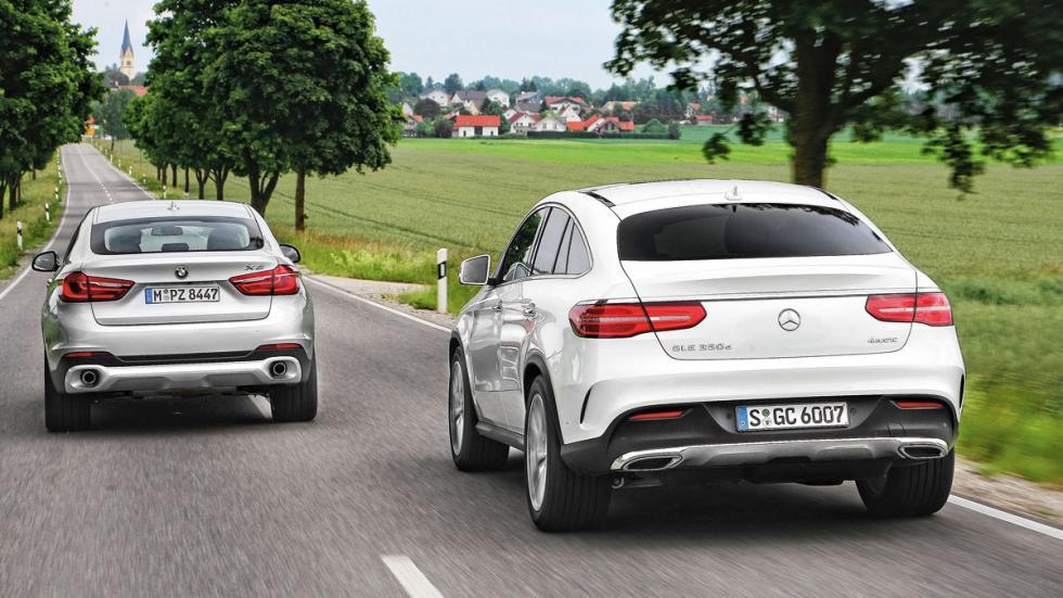Mercedes GLE Coupé/BMW X6