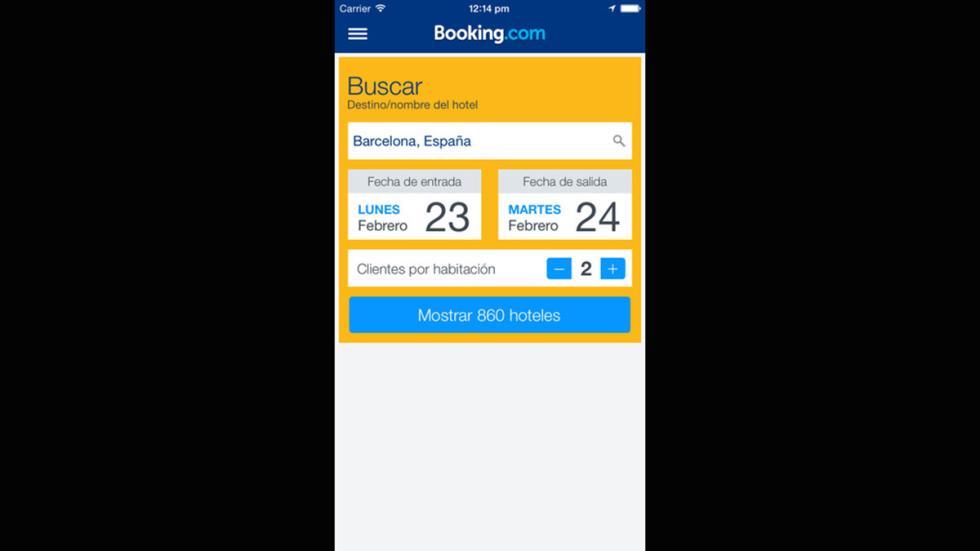App Booking