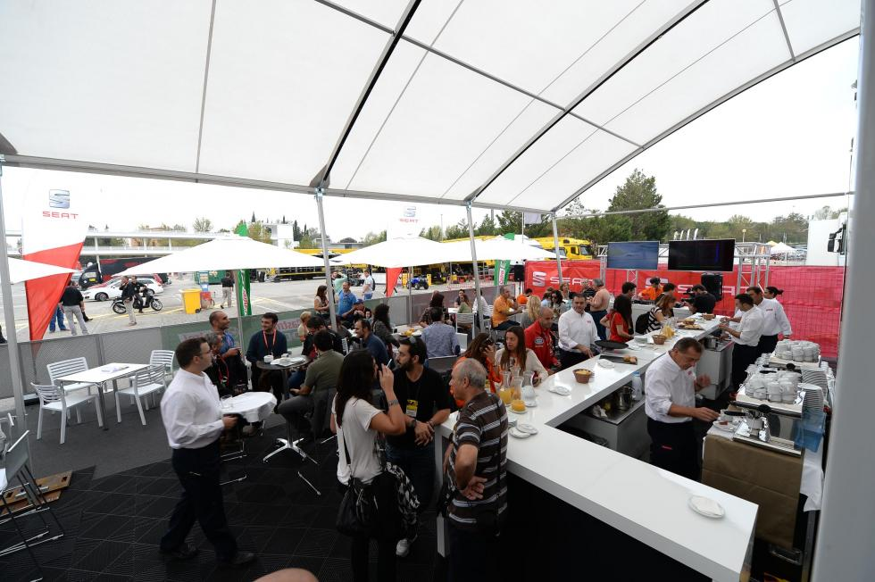 Restaurante Seat León Eurocup 1