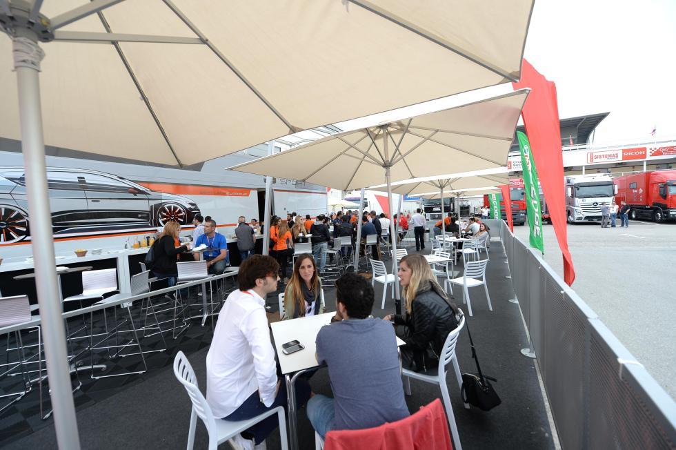 Restaurante Seat León Eurocup 2
