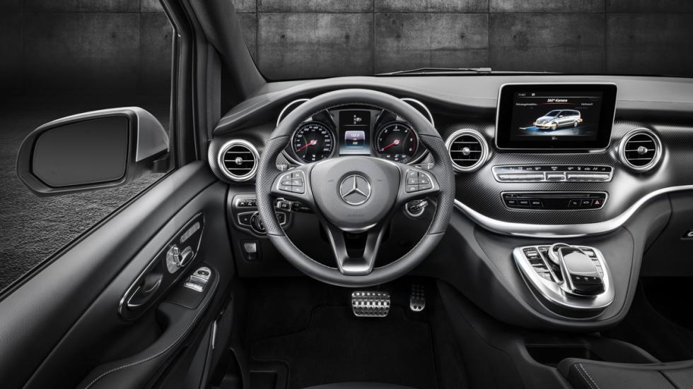Mercedes Clase V AMG Line salpicadero