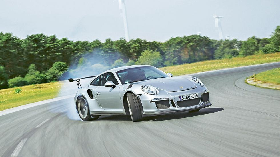 Prueba radical: Porsche 911 GT3 RS cruzada radical