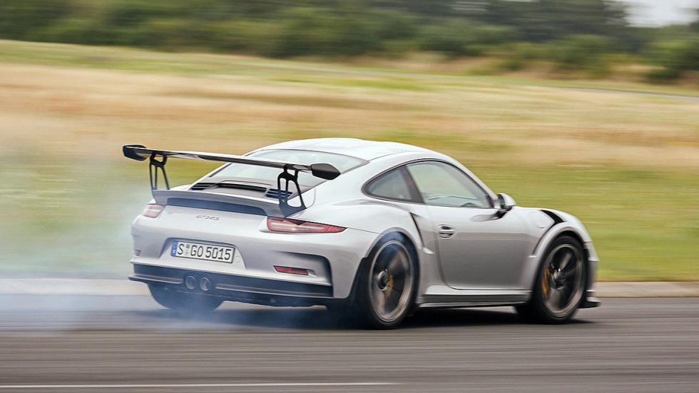 Prueba radical: Porsche 911 GT3 RS cruzada radical zaga