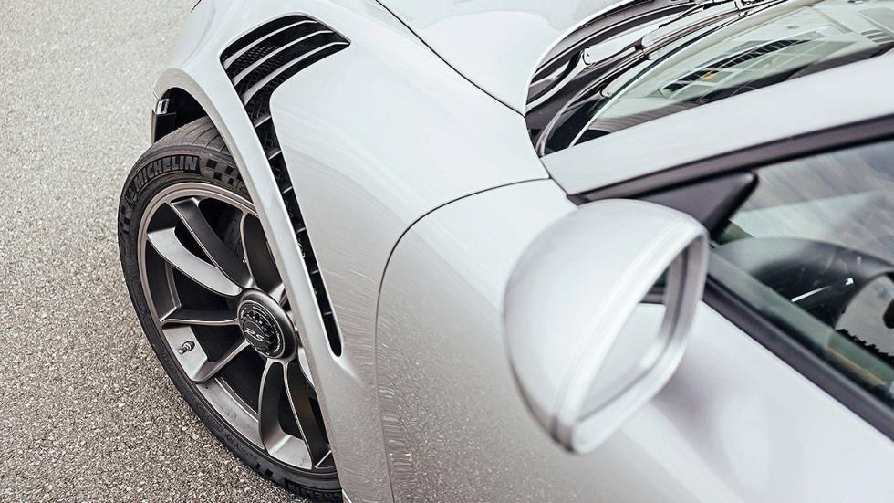 Prueba radical: Porsche 911 GT3 RS branquias