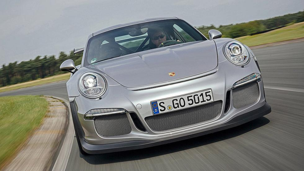 Prueba radical: Porsche 911 GT3 RS morro