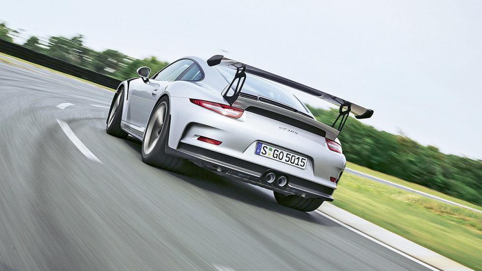 Prueba radical: Porsche 911 GT3 RS trasera