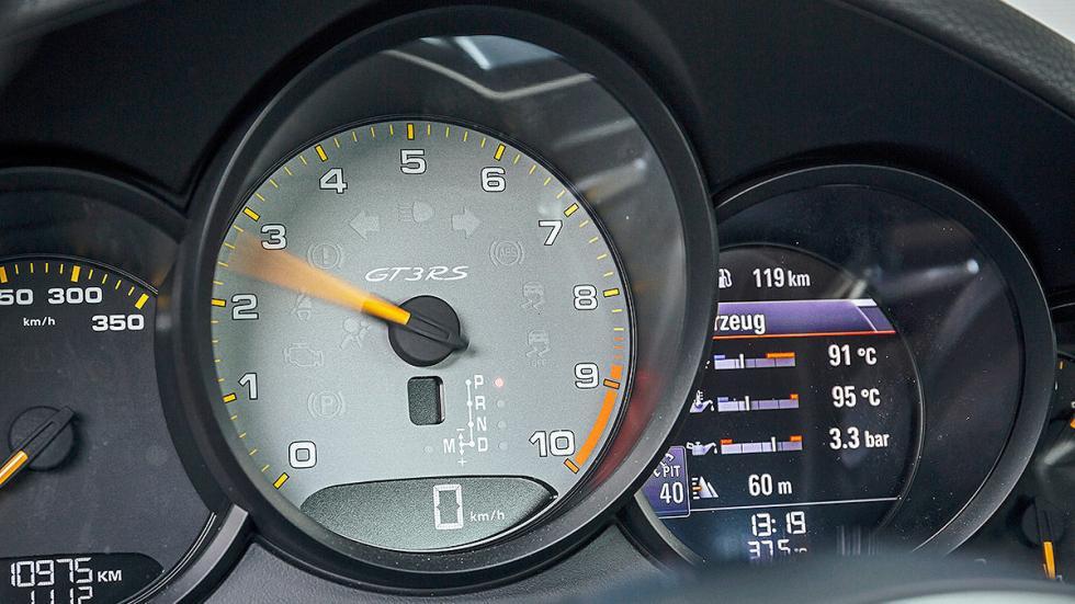 Prueba radical: Porsche 911 GT3 RS relojes