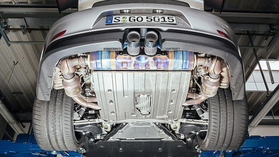 Prueba radical: Porsche 911 GT3 RS vías
