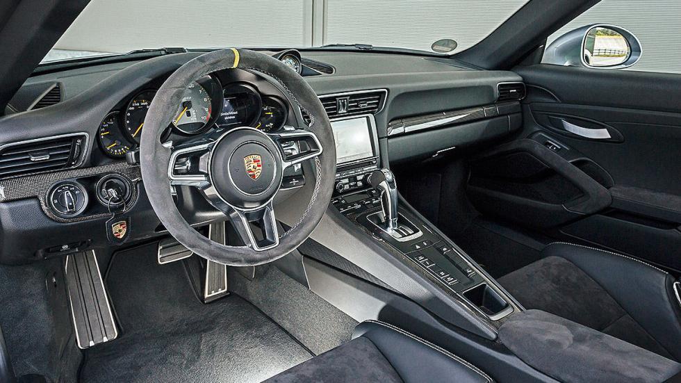Prueba radical: Porsche 911 GT3 RS volante