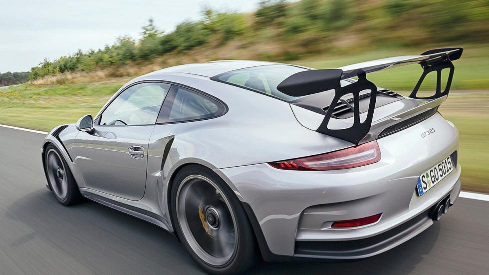 Prueba radical: Porsche 911 GT3 RS alerón y zaga