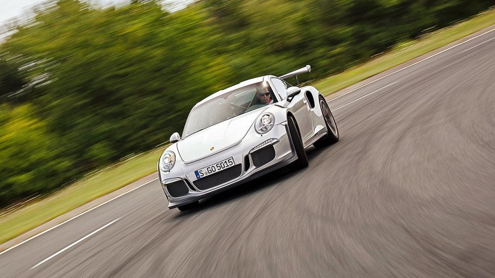 Prueba radical: Porsche 911 GT3 RS curva