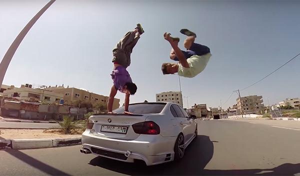 Parkour Gaza BMW 1