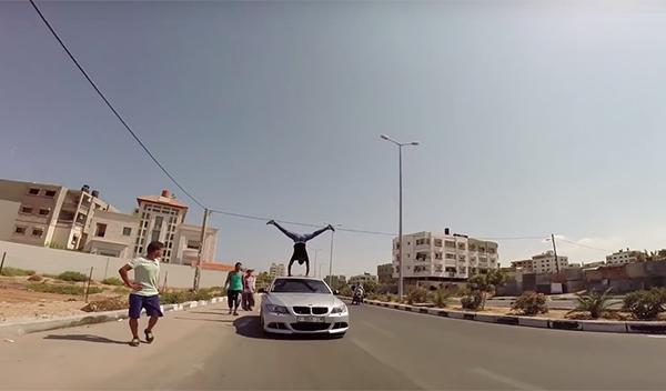 Parkour Gaza BMW 3