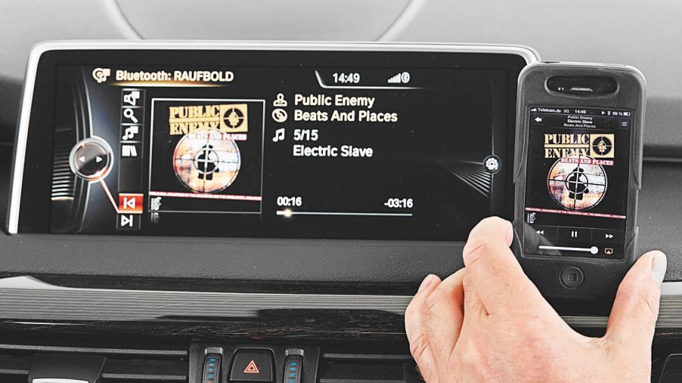 BMW X5 conectividad